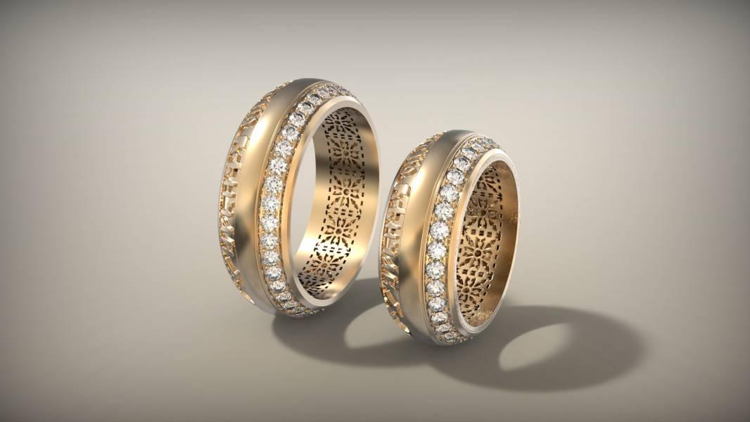 Кольца для венчания в церкви фото