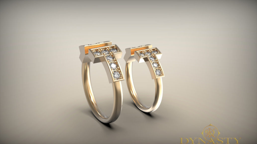 Обручальные кольца современные