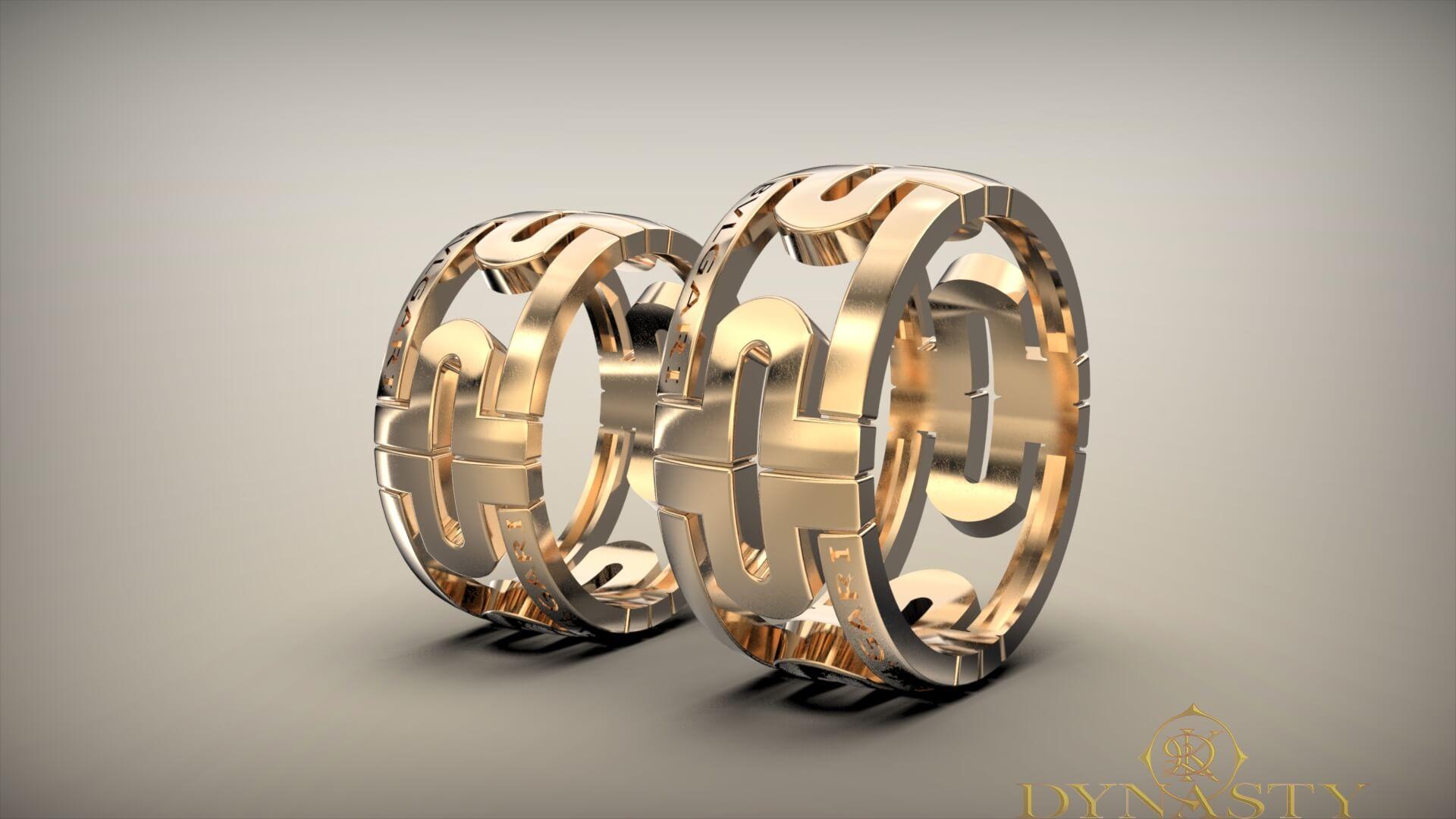 Обручальные кольца булгари