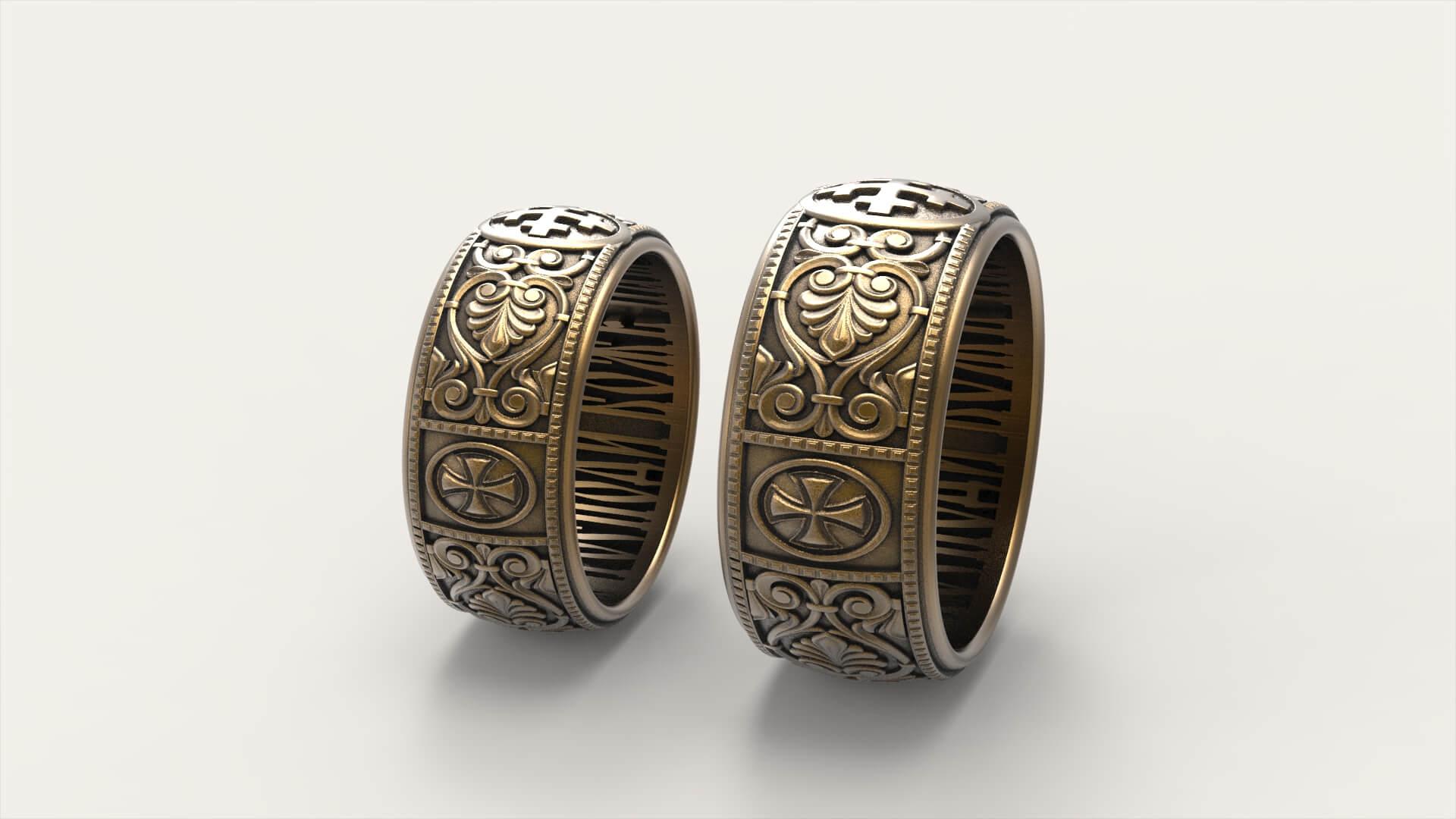 Венчальные кольца догмат