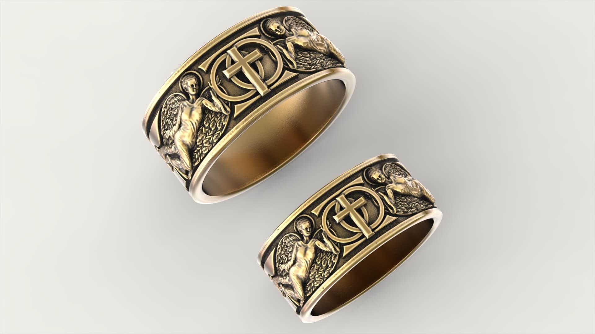 Венчальные кольца хранители