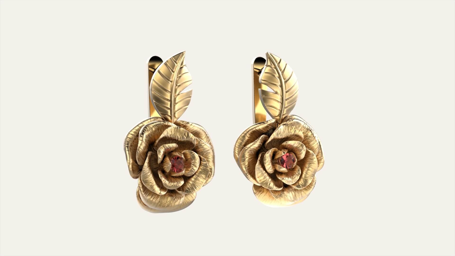 Женский гарнитур с розами