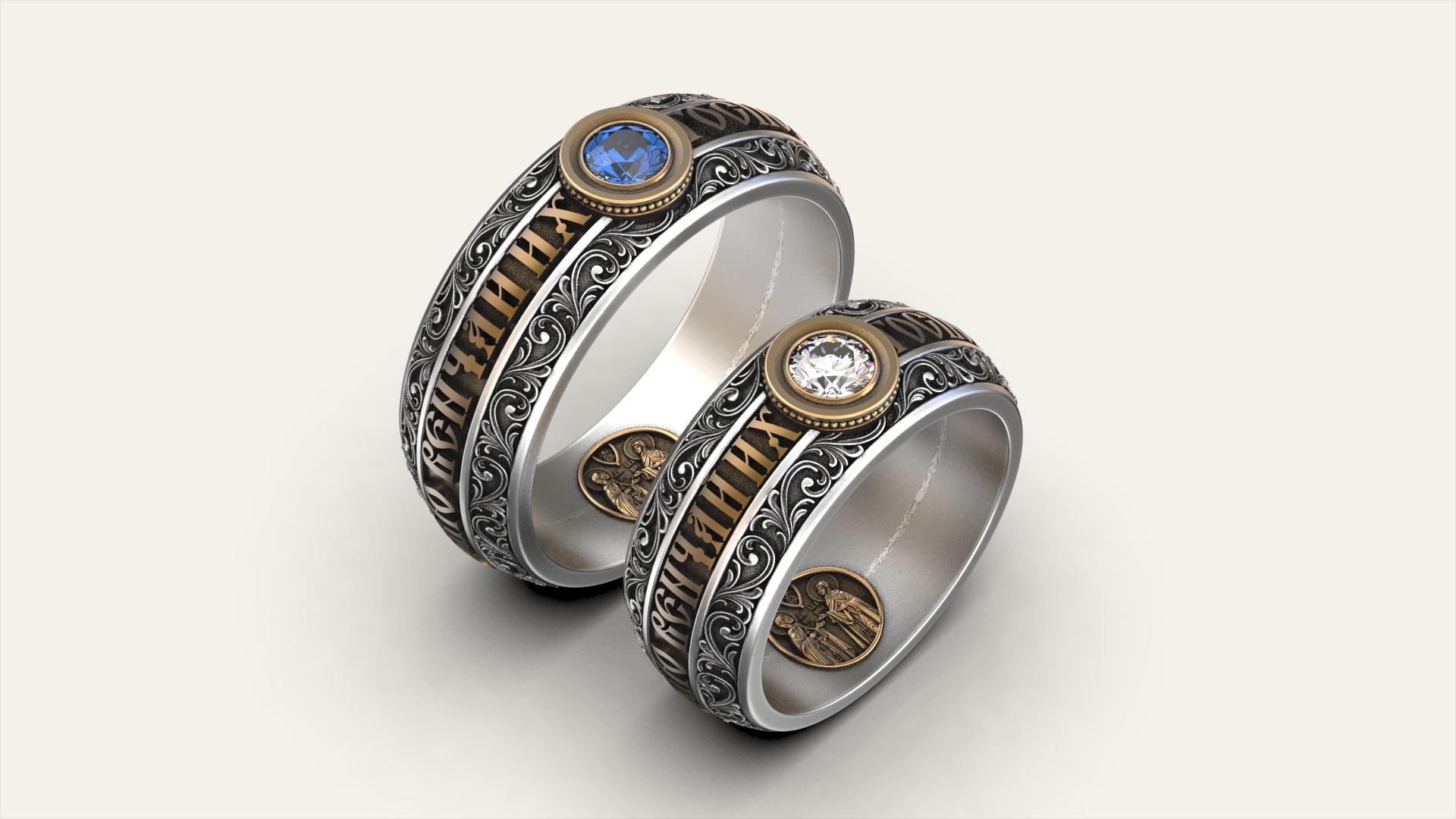 Венчальные кольца «Петр и Феврония»