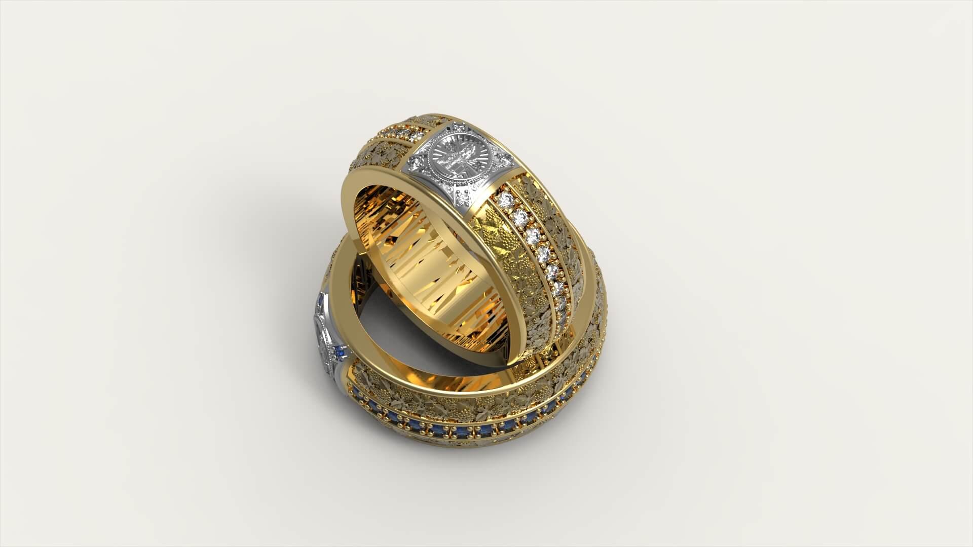 Венчальные кольца «Символ Рая»