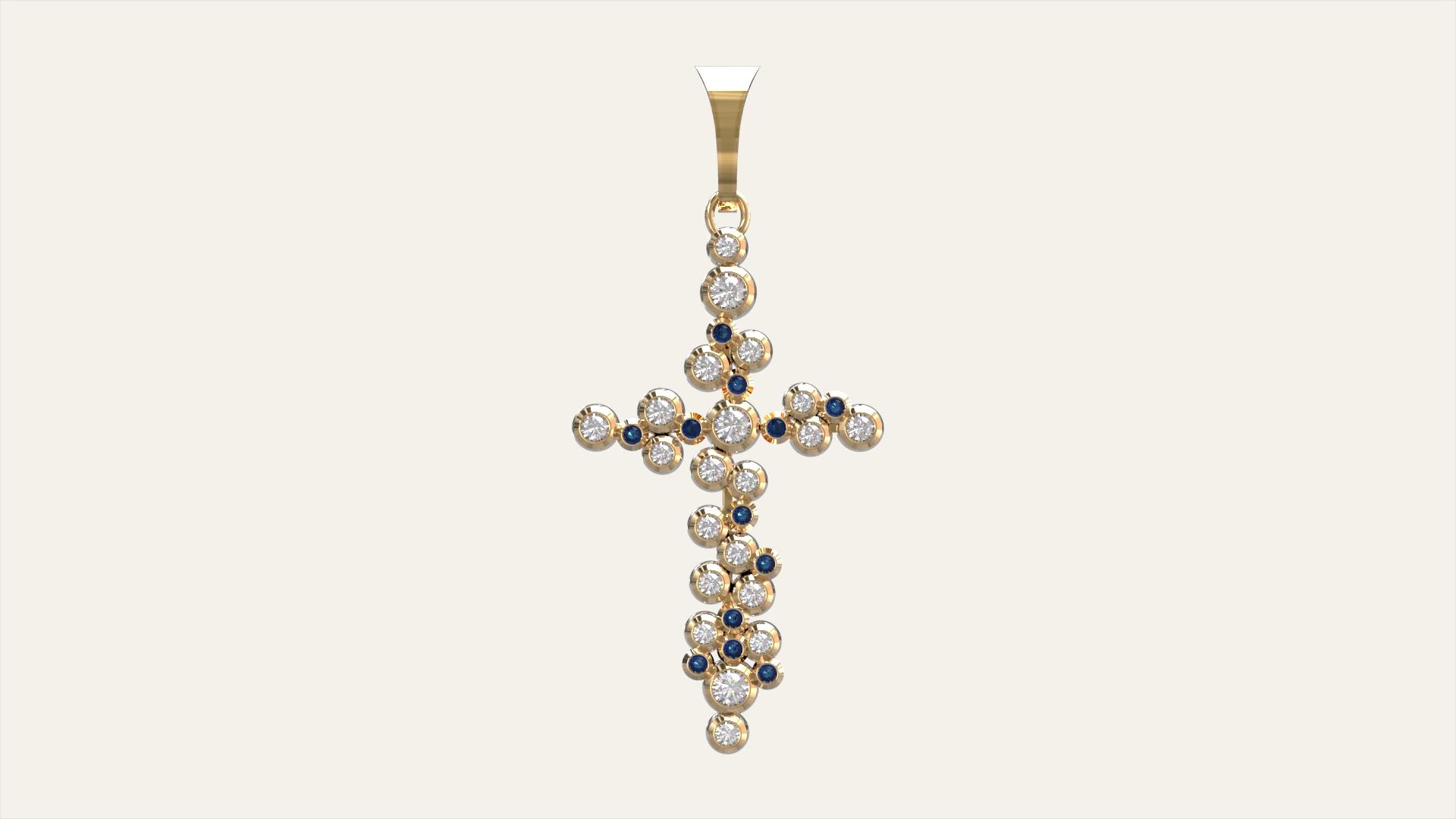 Женский крест Символ Веры