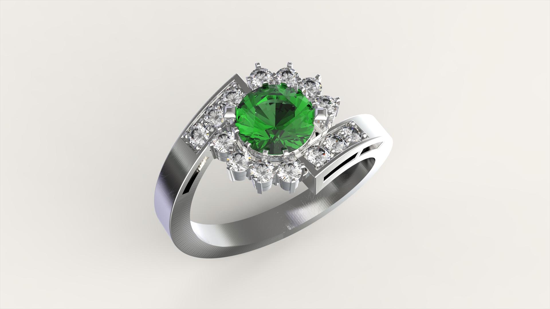 Женское кольцо «Грация»