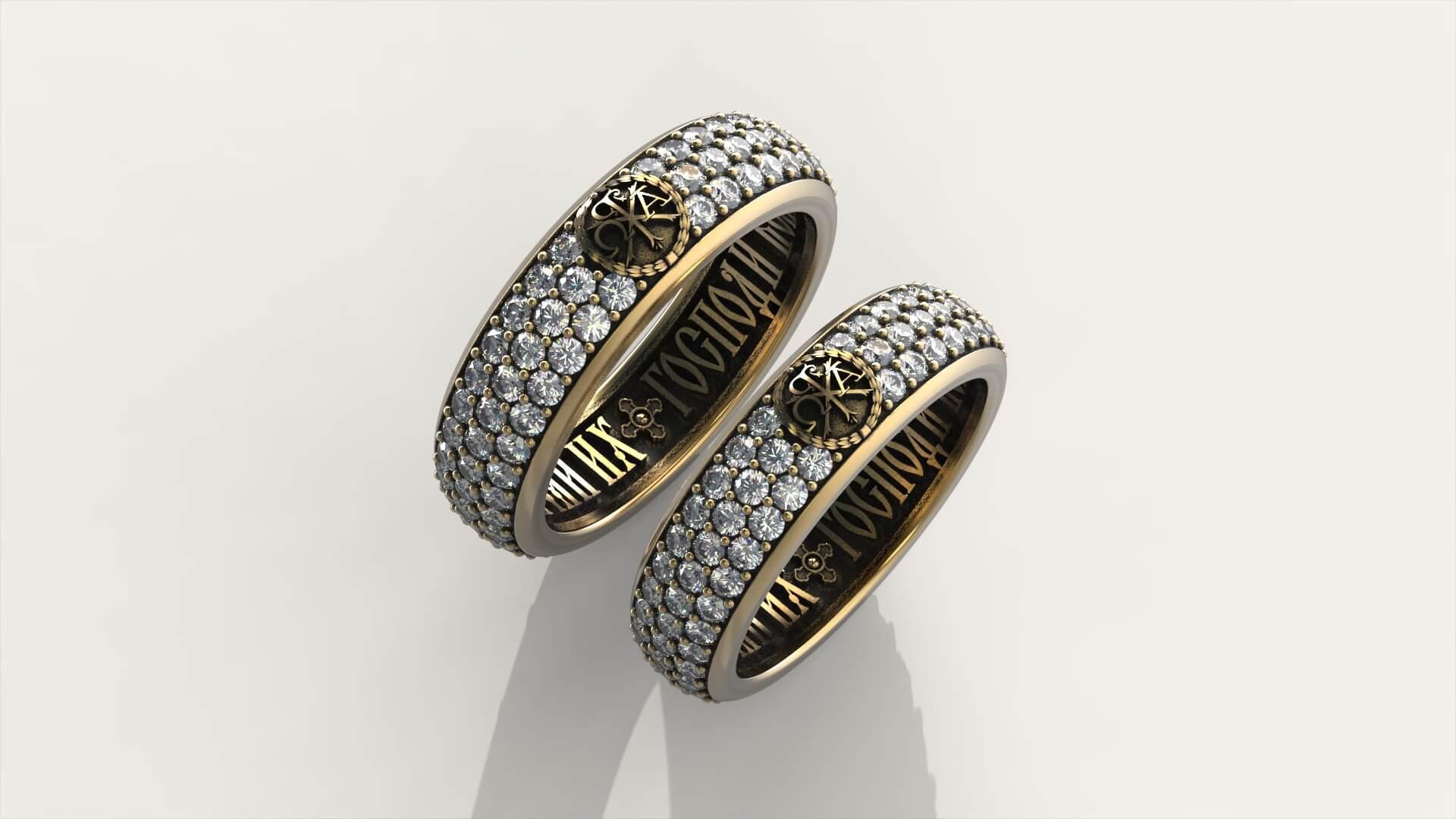 Венчальные кольца «Святые Тайны»