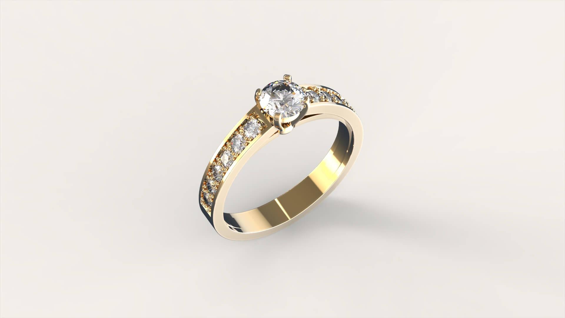 Кольцо для помолвки «Филиа»