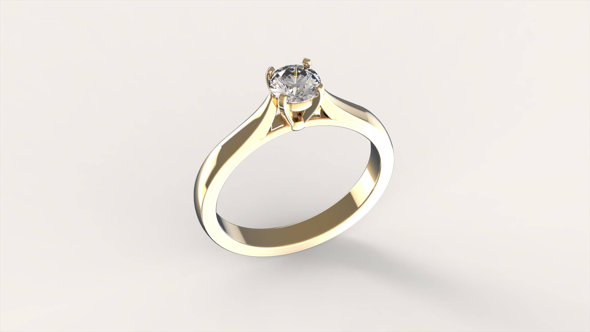 Кольцо для помолвки «Афродита»