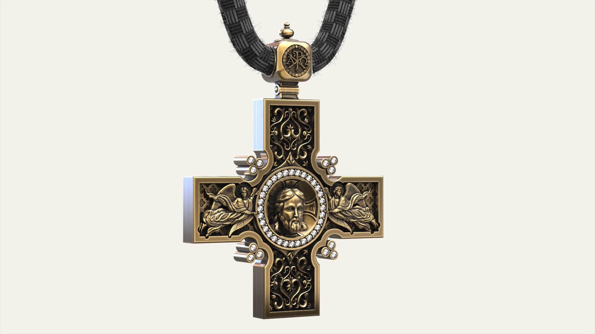 Мужской крест «Катакомбный»