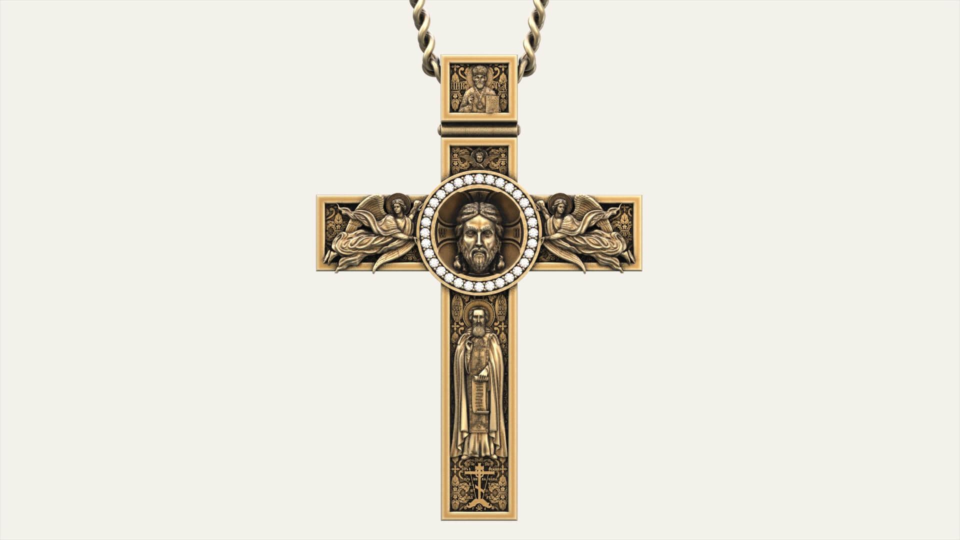 Мужской крест «Голгофа»