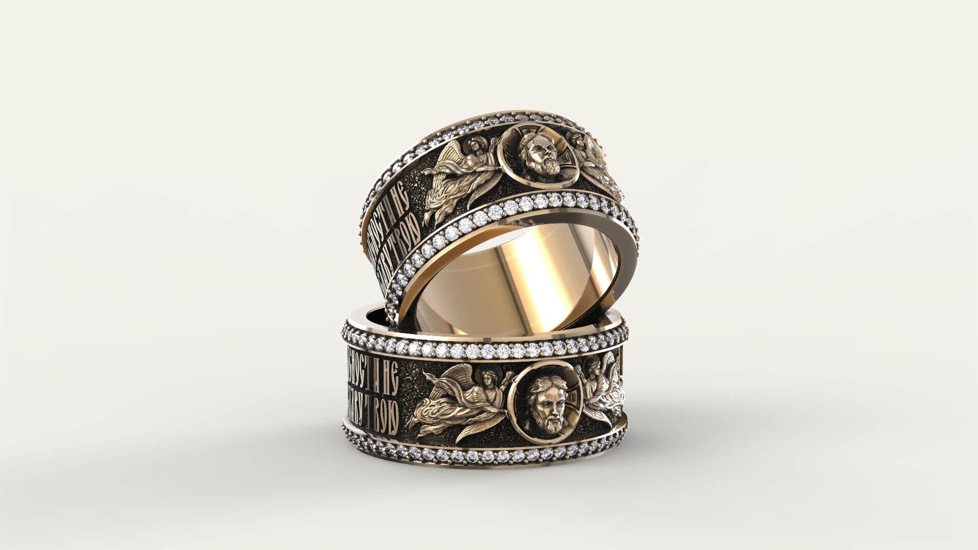 Венчальные кольца «Укрепи нашу клятву»