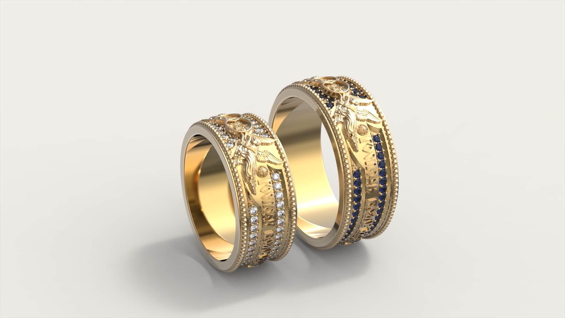 Венчальные кольца «Грани Любви»