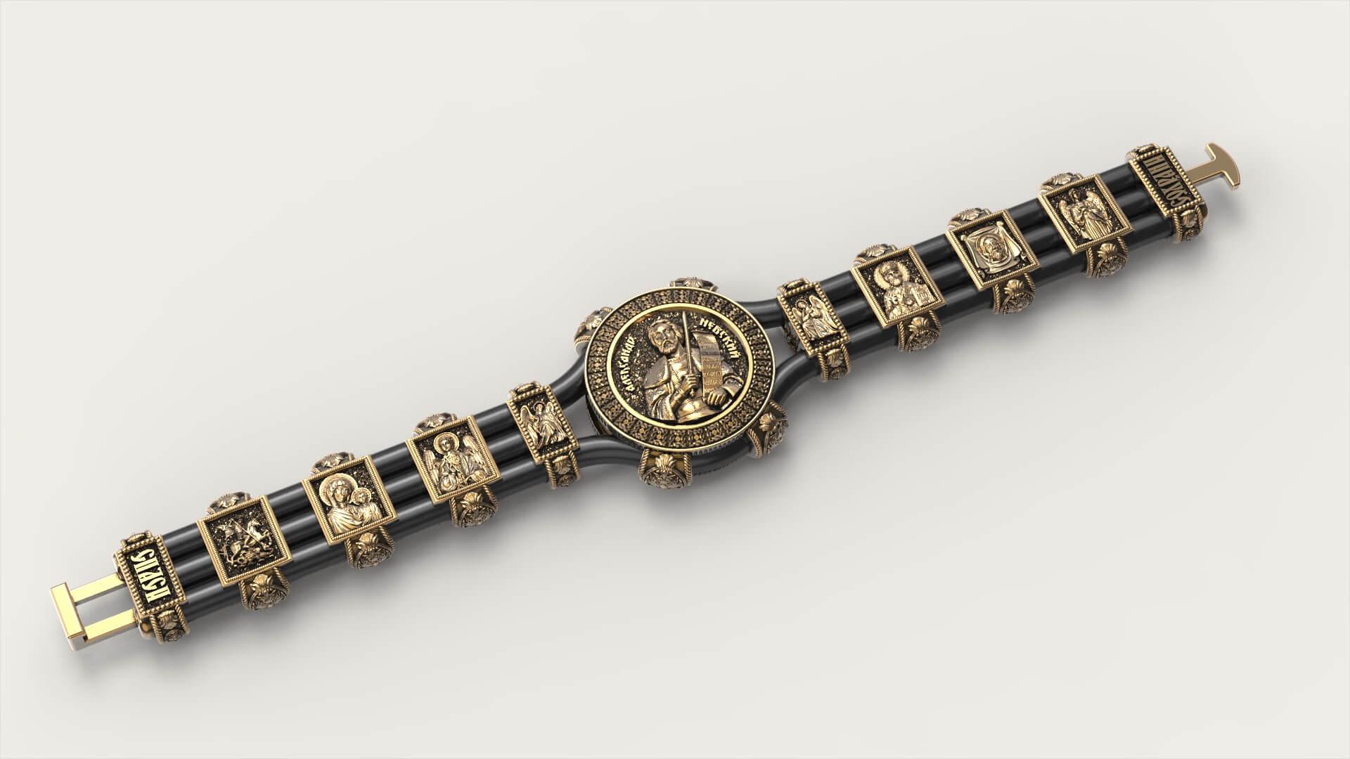 Православный браслет «Александр Невский»