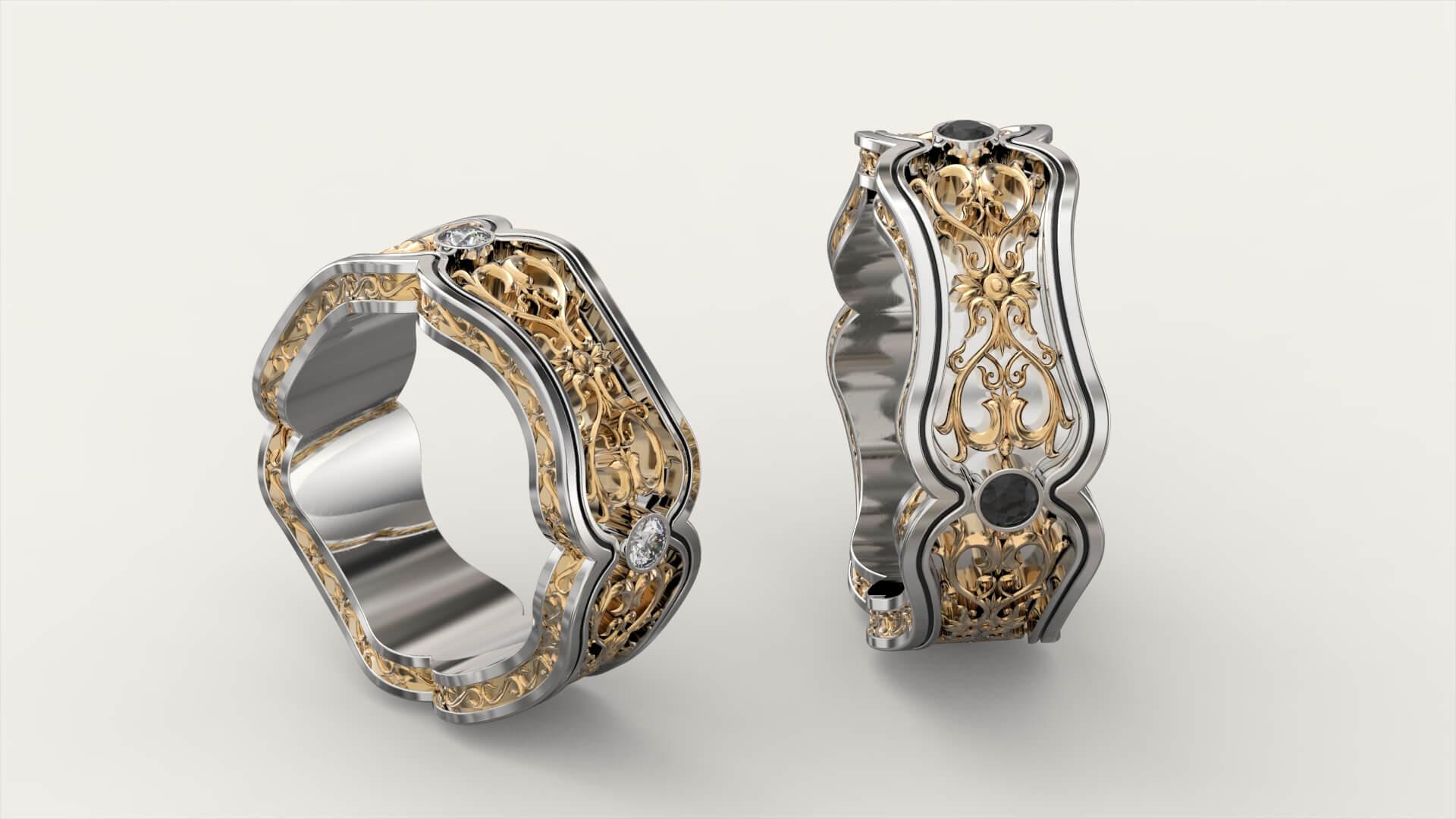 Обручальные кольца «Монплезир»