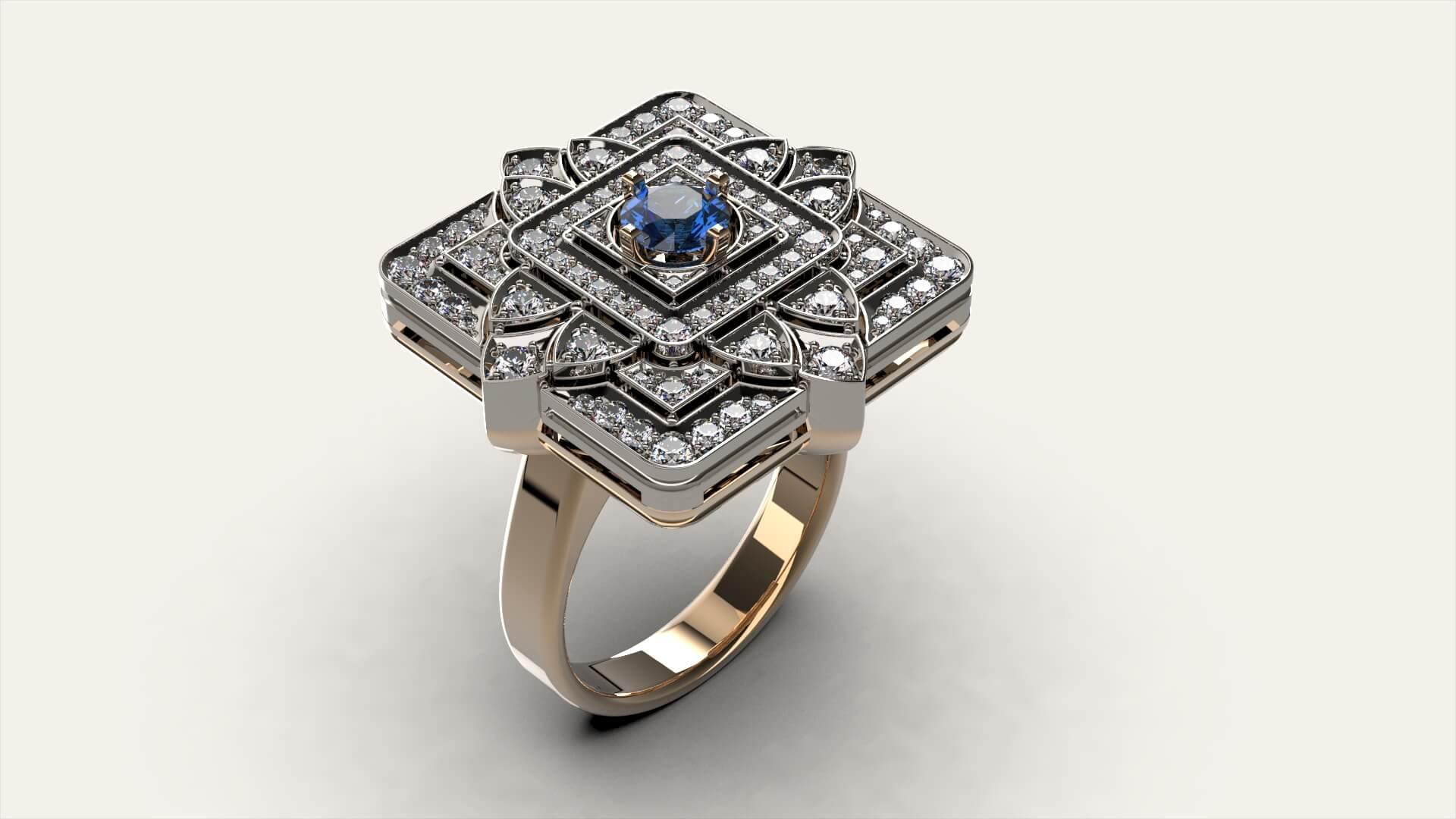 Женское кольцо «Дхарма»