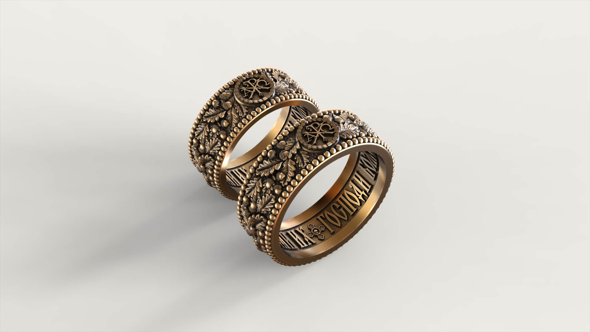 Венчальные кольца «Мамре»