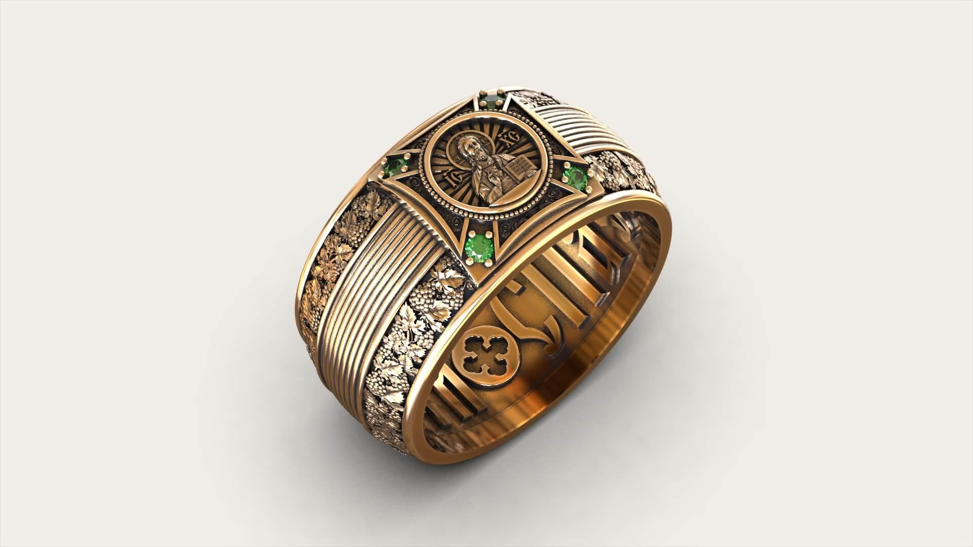 Православный перстень «Евхаристия»