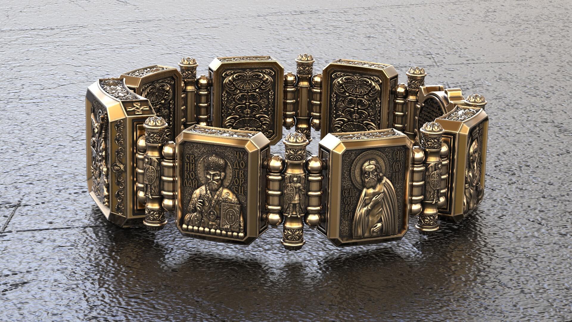 Православный браслет «Иконостас»