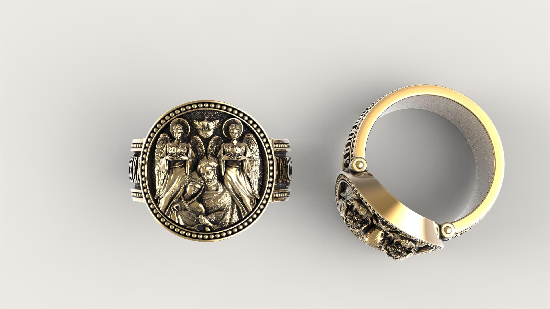 Венчальный перстень «Благоверные»